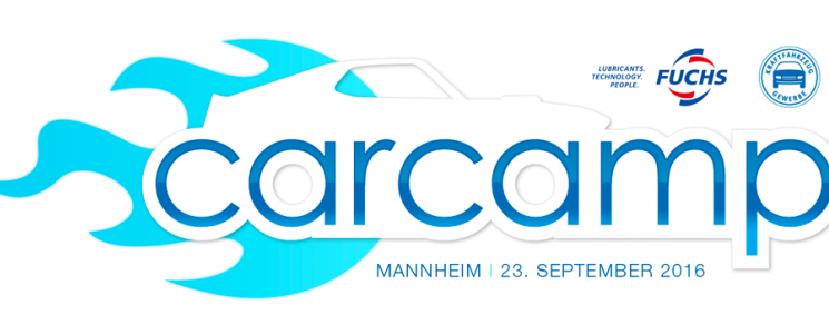 Das Mannheimer CarCamp am 23.09.2016