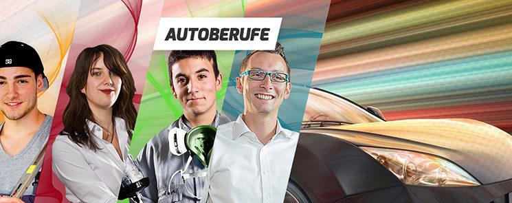 Die Autoberufe:Kfz-Mechatroniker – Automobilkaufmann – Fahrzeuglackierer (m / w)