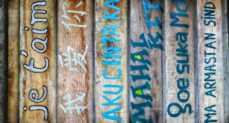 Frisch verliebt Fremdsprachen lernen?