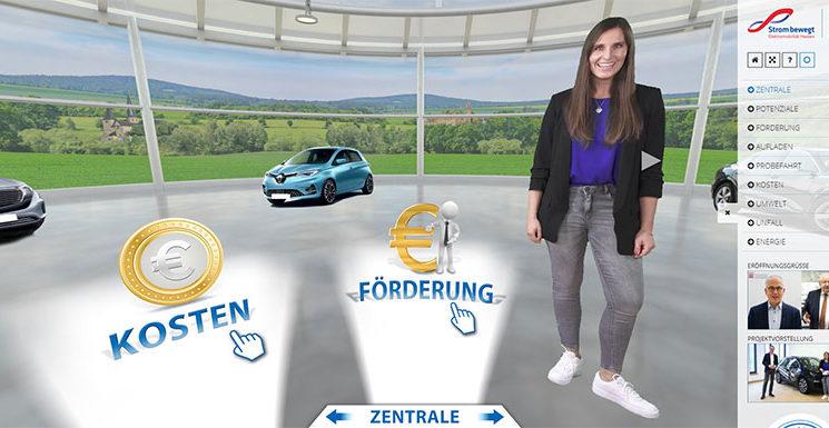Elektromobilität für Azubis mit dem virtuellen E-Autohaus
